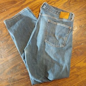 Lucky Brand Blue Jeans 361 Vintage Straight 40x32